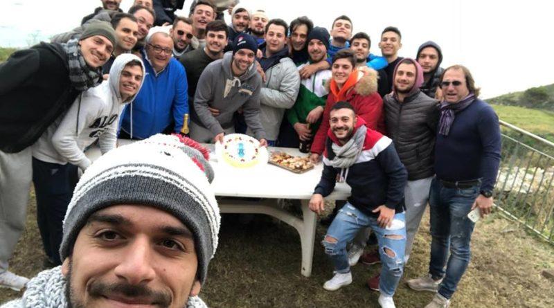 I festeggiamenti Natalizi dell'Atletico Messina