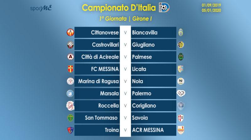 Serie D Girone D Calendario.Calendario Serie D Gir I Esordio A Troina Per L Acr