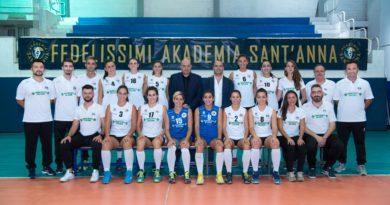 Volley Serie B2/F | Akademia Sant'Anna, buona la prima. Battuto il Torretta Crotone per 3-1
