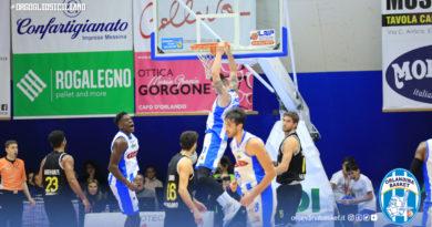 Basket Serie A2 | Torna alla vittoria l'Orlandina Basket, battuta Bergamo 67-54