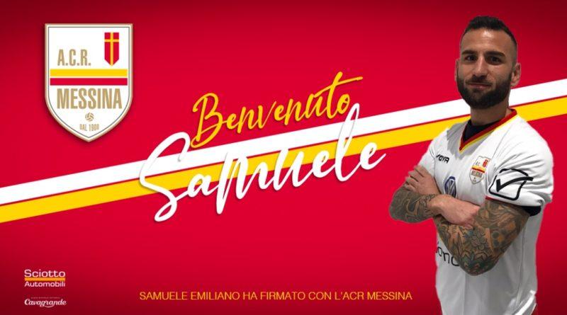 Acr Messina, rinforzo in difesa: dalla serie C  arriva il centrale Samuele Emiliano