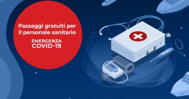 Caronte & Tourist | Stretto di Messina – Emergenza COVID-19 – Procedura passaggi gratuiti personale sanitario